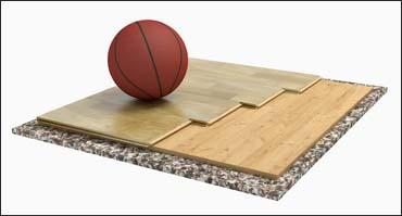 Nuovo pavimento sportivo TRENTO SOLID