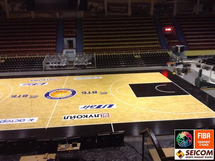 RUSSIA Saratov new Seicom Portable Floor Arena