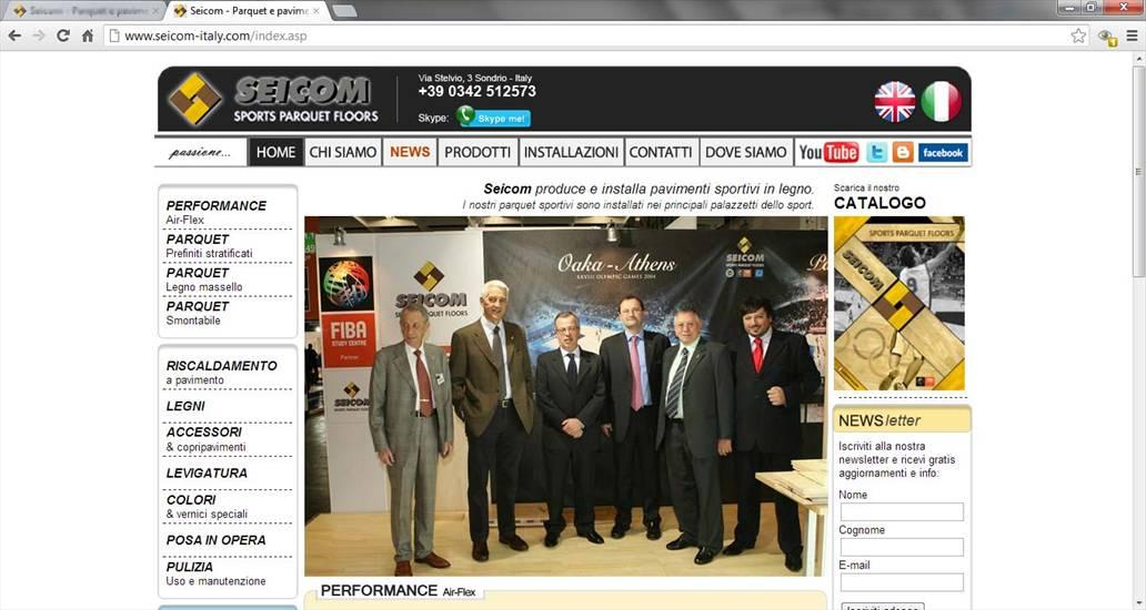 Ottobre 2012  restyling del nostro sito