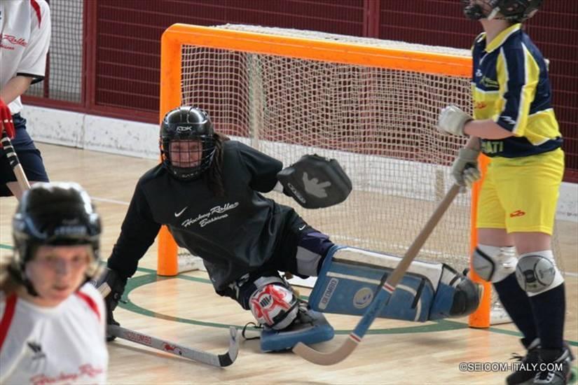 tracciatura pattinaggio hockey su parquet per palestre