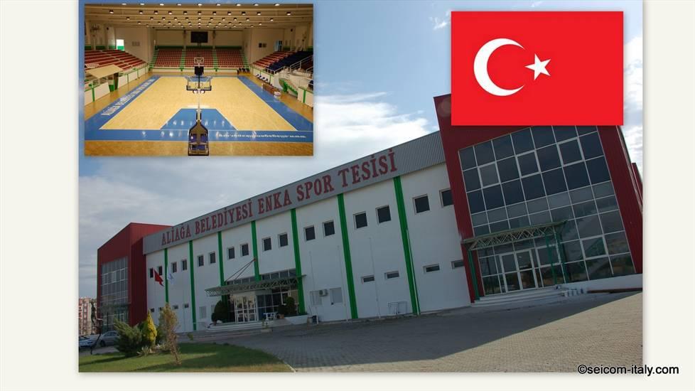 La Seicom in Turchia.  La storia di due importanti installazioni