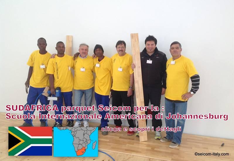Parquet sportivi Seicom in SUDAFRICA