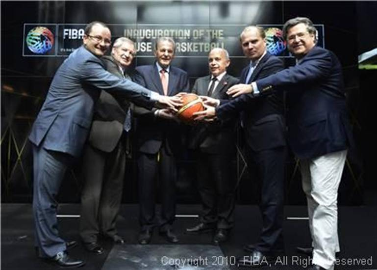 GINEVRA 18 giugno 2013 - FIBA inaugurates House of Basketball