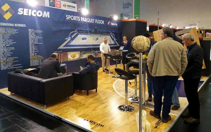 FSB 7−10 November 2017 Koln - Germany Seicom inside FIBA VILLAGE Hall 9 Stand C 019