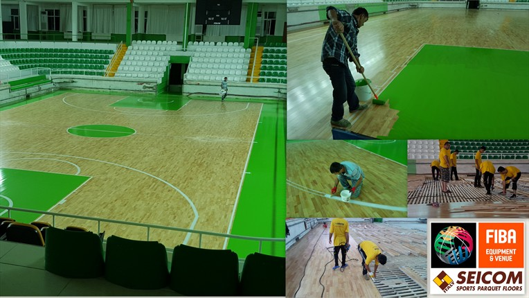 2016 Giresun which plays Turkish Basketball Super League