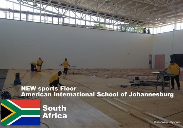 SEICOM Sports Flooring in SOUTH AFRICA